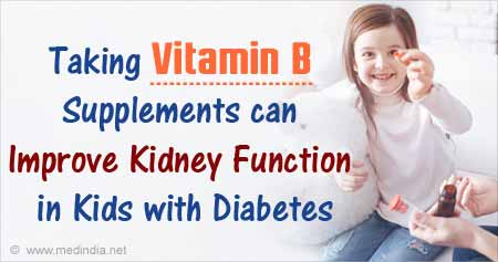 Vitamin B Supplements May Boost Kidney Function in Young Diabetics