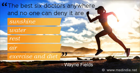 Quote on Healthy Living and Well-Being