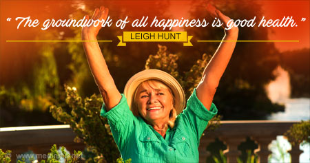 Health Quote on Happiness and Good Health