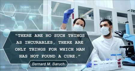Interesting Health on Finding a Cure by Bernard M. Baruch