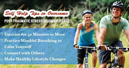 Health Tip to Overcome Post Traumatic Stress Disorder (PTSD)