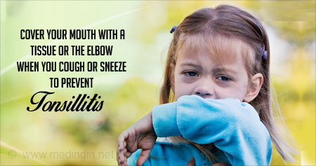Health Tip to Prevent Tonsillitis