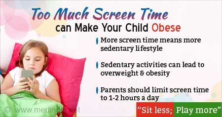 Too Much Screen Time Can Make Your Child Obese