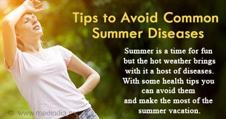 Health Tip To Avoid Common Summer Diseases