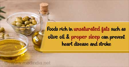 Olive Oil and Good Sleep can Prevent Heart Attack, Stroke