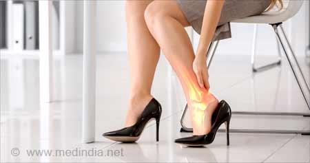 Wearing High Heels Every Day can Affect Women's Bone Health