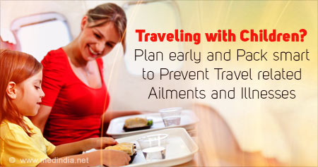 Health Tip on Traveling with Children