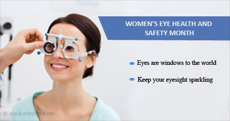 Health Tip on Women's Eye Health and Safety