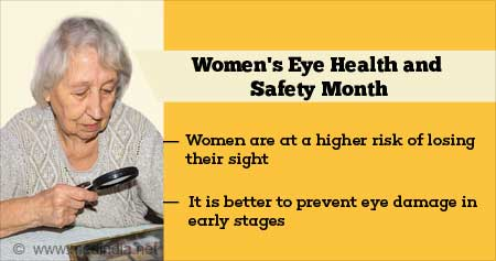 Health Tip on Women''s Eye Health and Safety Month
