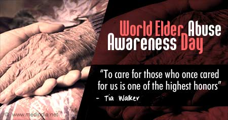Health Tip on World Elder Abuse Awareness Day