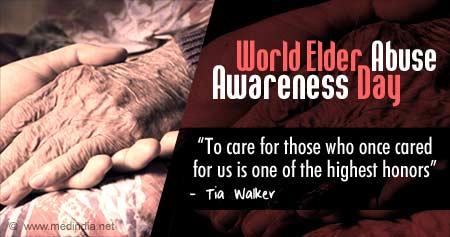 Health Tip on World Elder Abuse Awareness Day