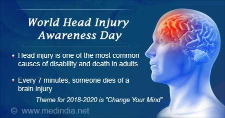 Health Tip on World Head Injury Awareness Day