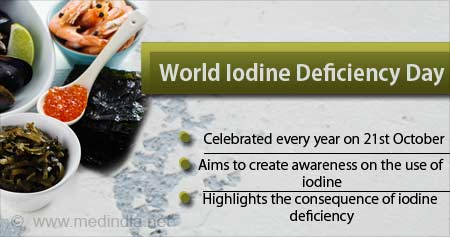 Health Tip on World Iodine Deficiency Day