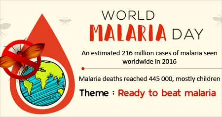 Health Tip on World Malaria Day