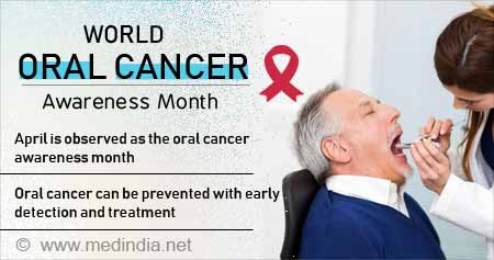 Health Tip on World Oral Cancer Awareness Month