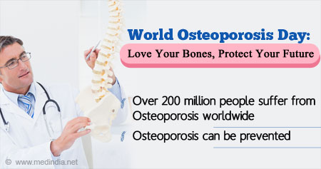 Health Tip on World Osteoporosis Day