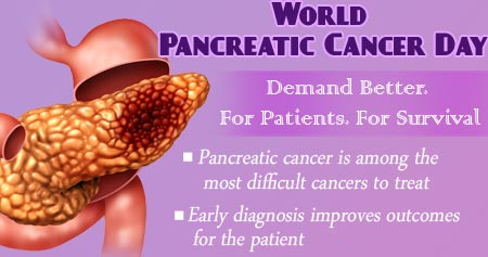 Health Tip on World Pancreatic Cancer Day