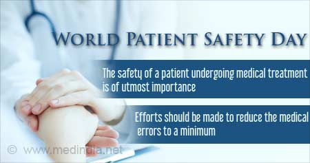 Health Tip on World Patient Safety Day