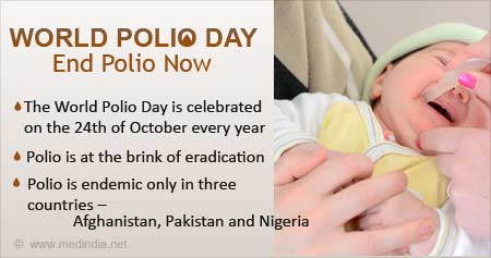 Health Tip on World Polio Day