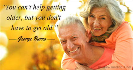 Inspiring Health Quote on Getting Older by George Burns