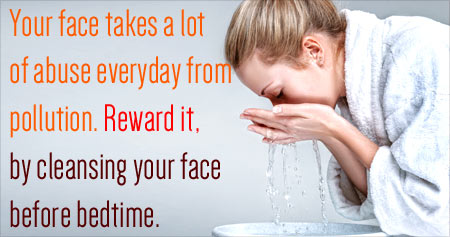 Health Tip on Face Cleansing