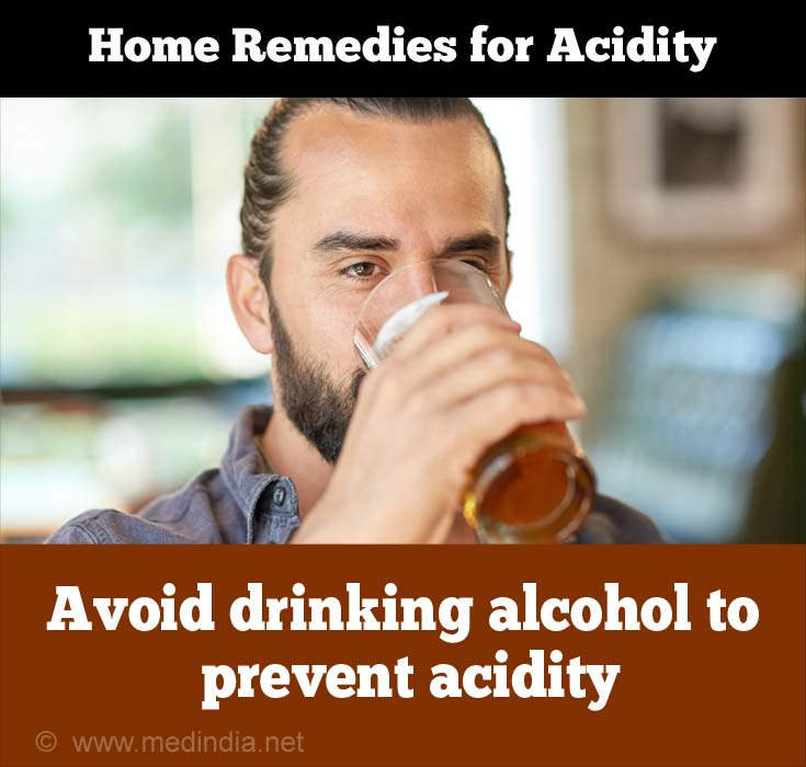 Common Causes of Acidity: Alcohol
