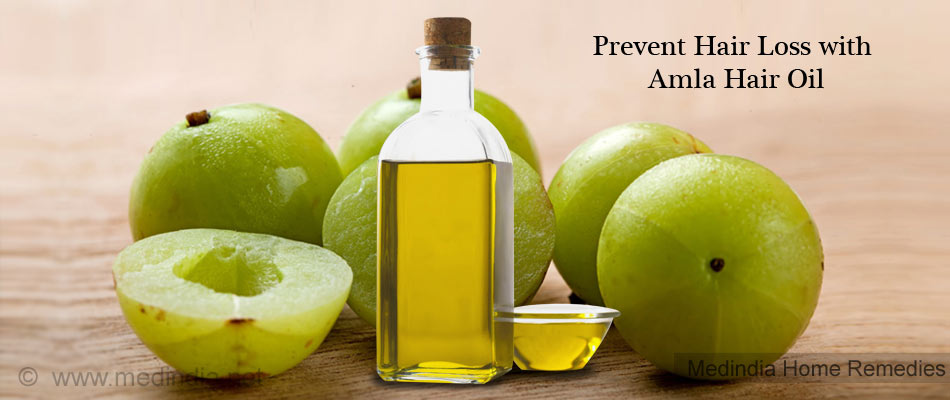 Home Remedies for Hair Loss: Amla (Indian Gooseberry
