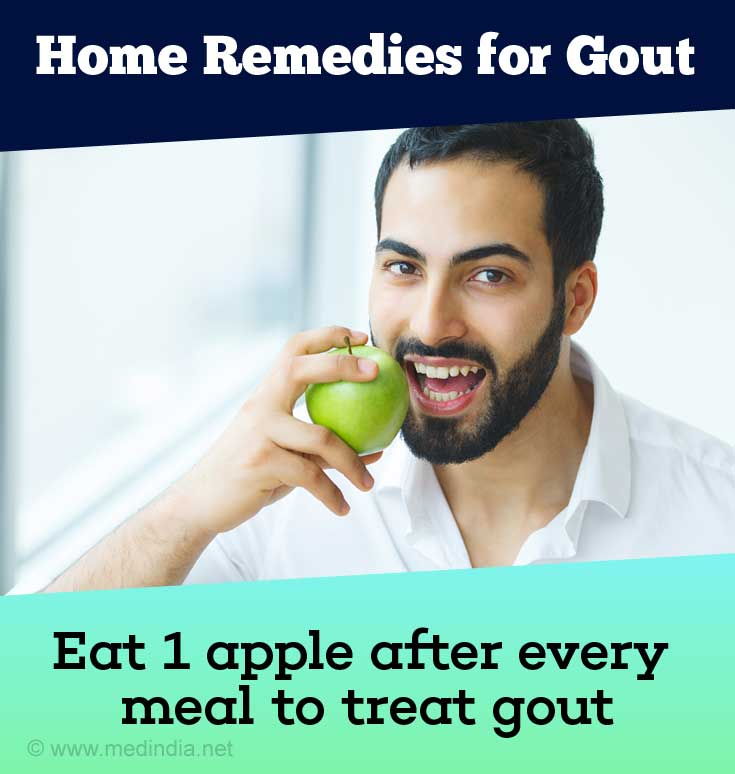 Apple for Gout