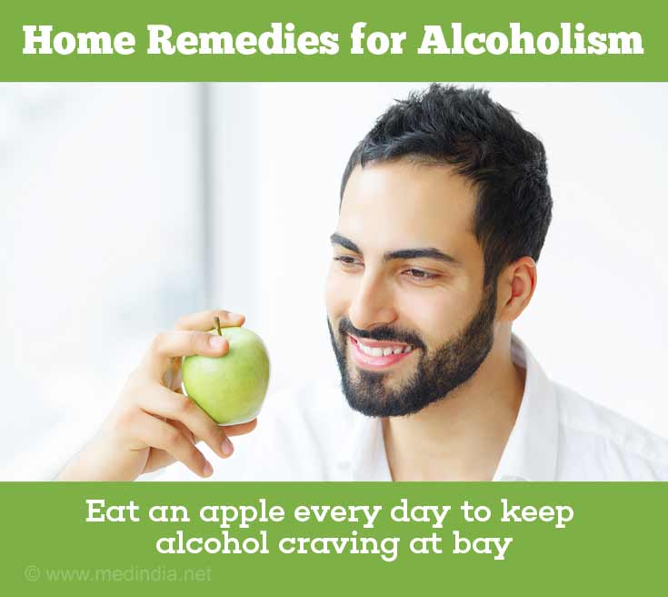 Apple Prevents You from Alcohol Craving