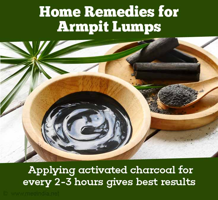 Applying Activated Charcoal for every 2-3 hours gives Best Results