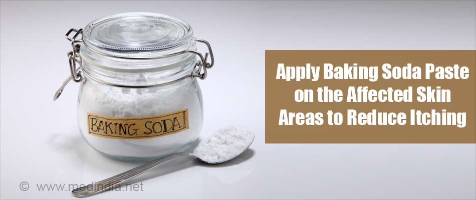 Apply Baking Soda Paste on the Affected Skin Areas to Reduce Itching
