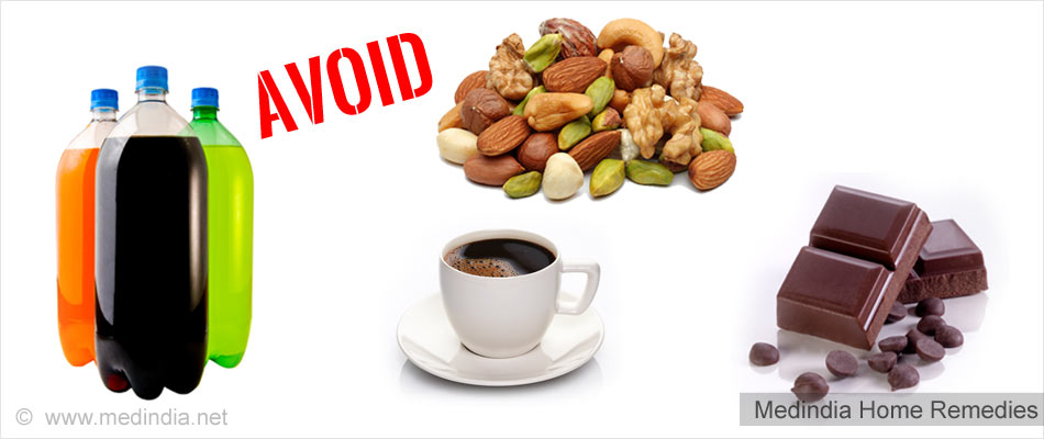 Home Remedies for Headache: Foods to Avoid