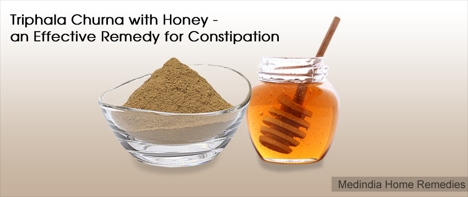 Home Remedies for Constipation in Adolescents and Adults: Ayurvedic Remedy