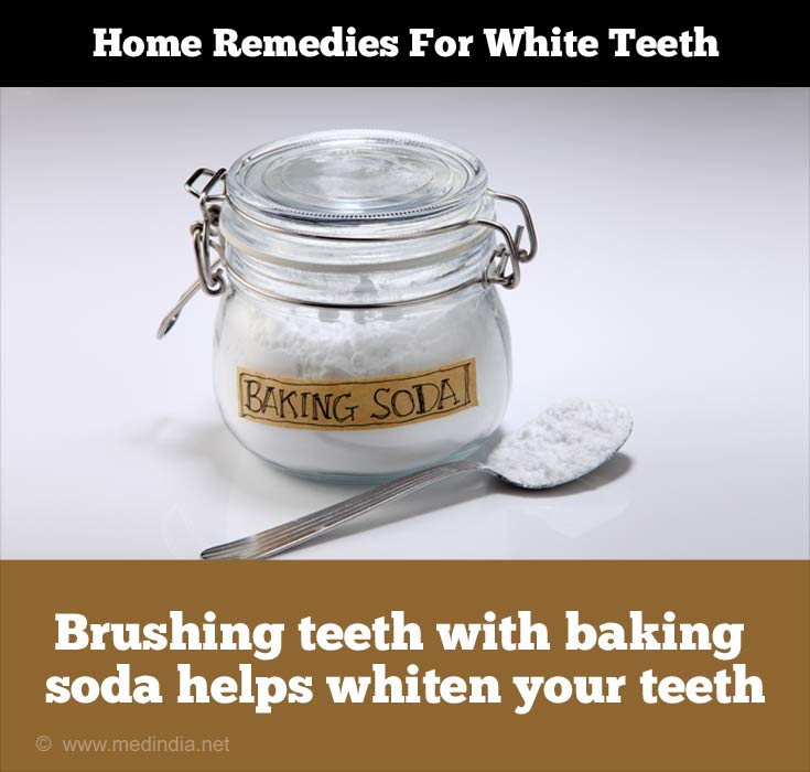Tips to Maintain White Teeth: Baking Soda