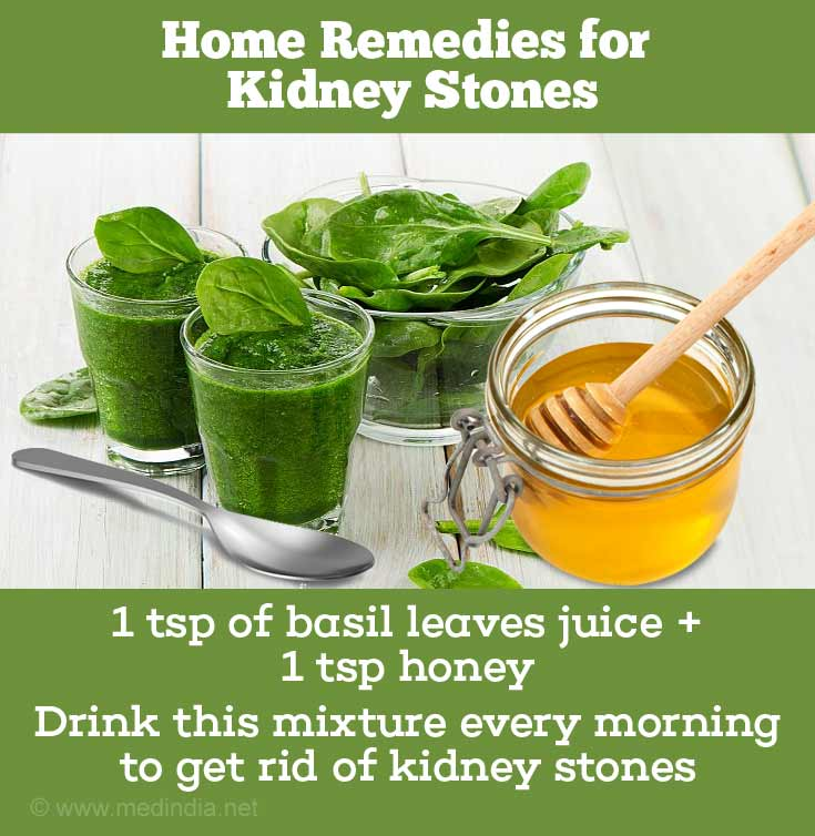 Basil Leaves Clear Kidney Stones