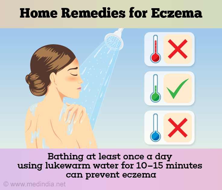 Bathing Helps Prevent Eczema