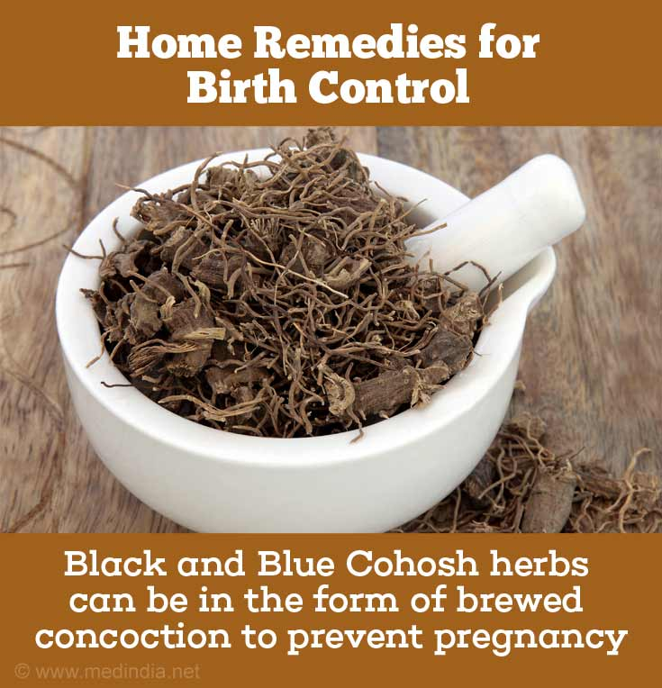 Use Black and Blue Cohosh for Birth Control