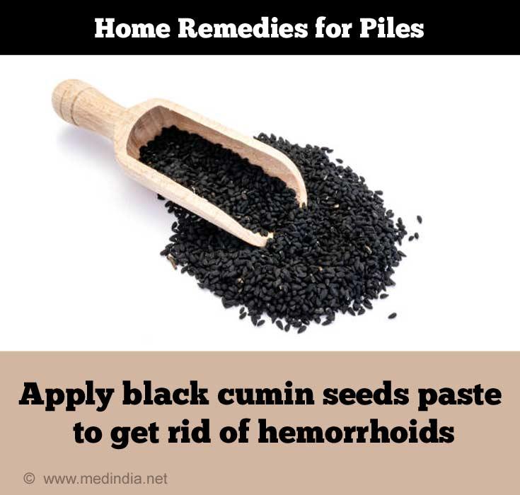 Black Cumin Seeds for Piles / Hemorrhoids