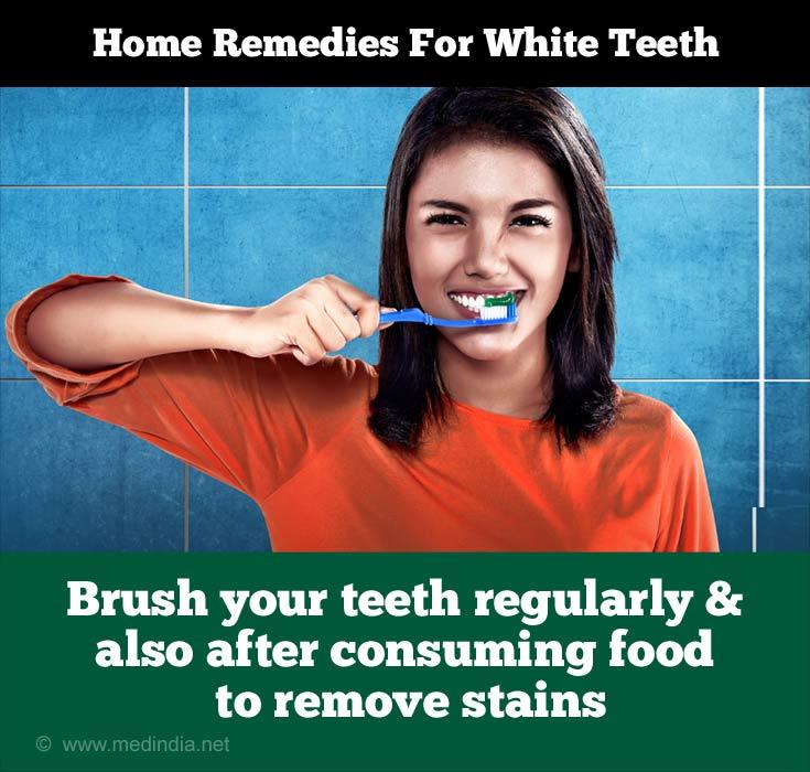 Tips to Maintain White Teeth: Brushing
