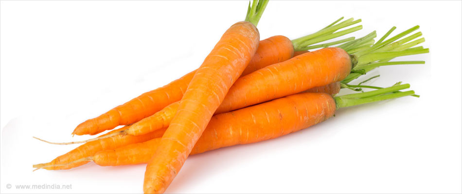 Home Remedies for Chicken Pox: Carrot