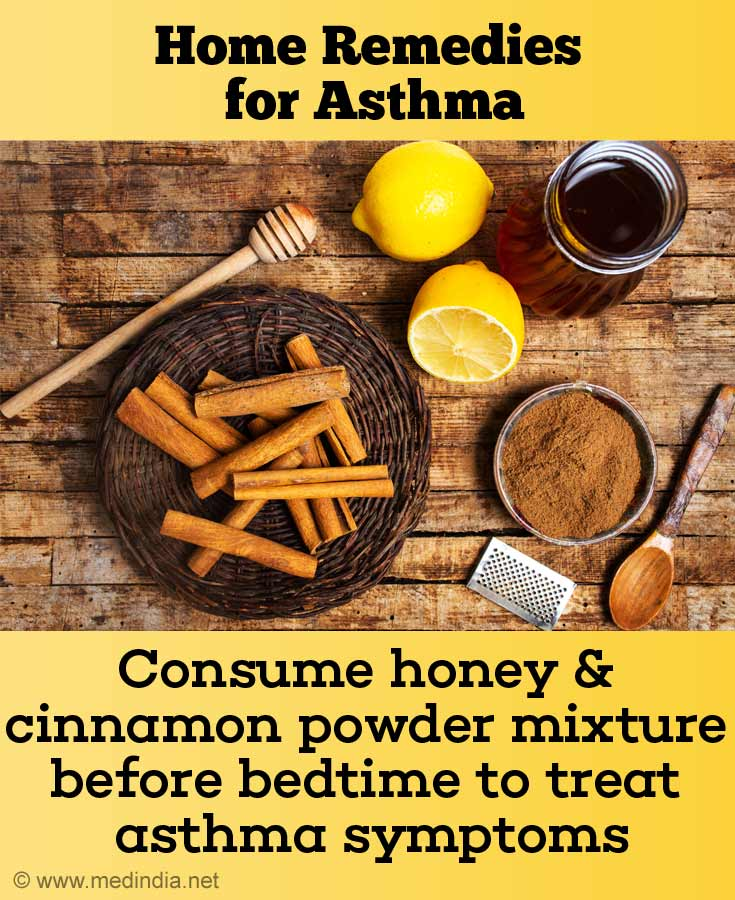 Honey and Cinnamon Powder for Asthma