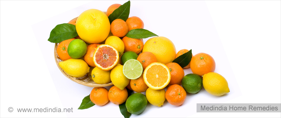 Tips to Maintain White Teeth: Citrus Fruits