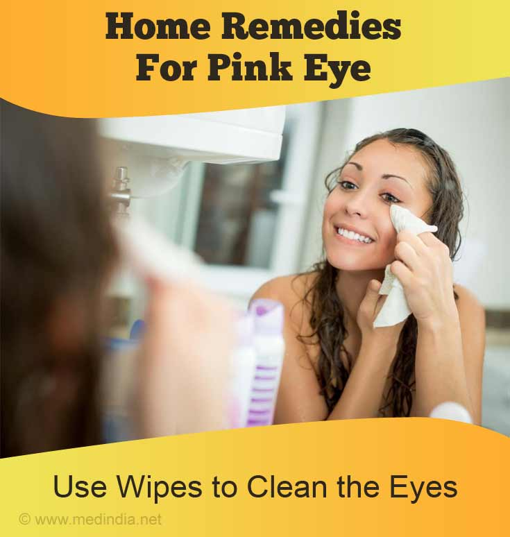 Use Wipes to Clean the Eyes