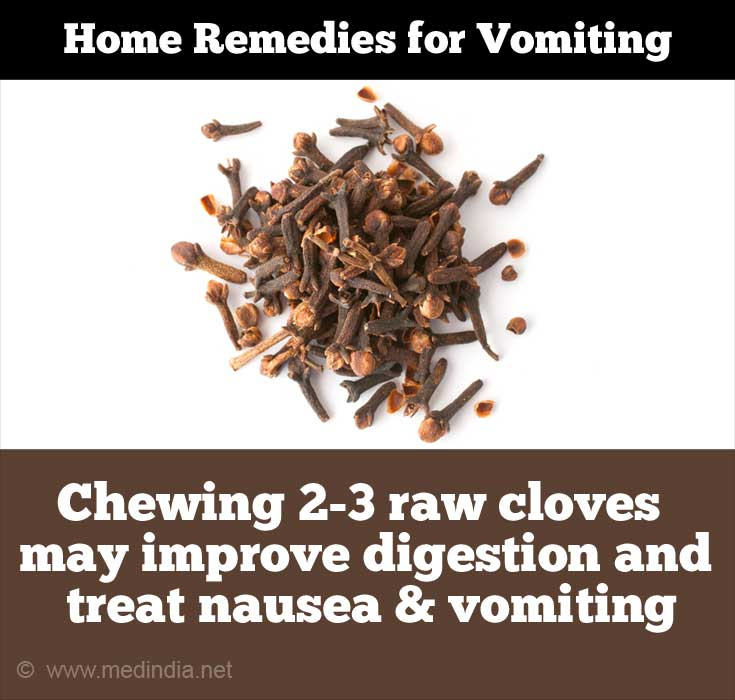 Home Remedies for Vomiting: Cloves
