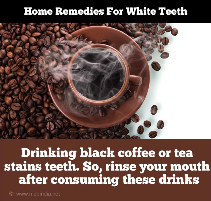 Discoloring Agents of Teeth: Coffee