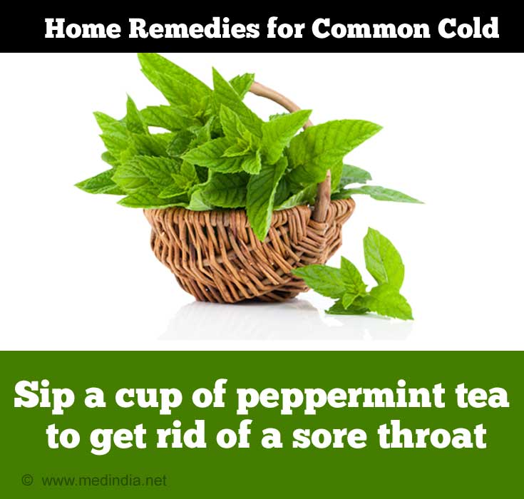 Tips for Common Cold: Herbal Tea