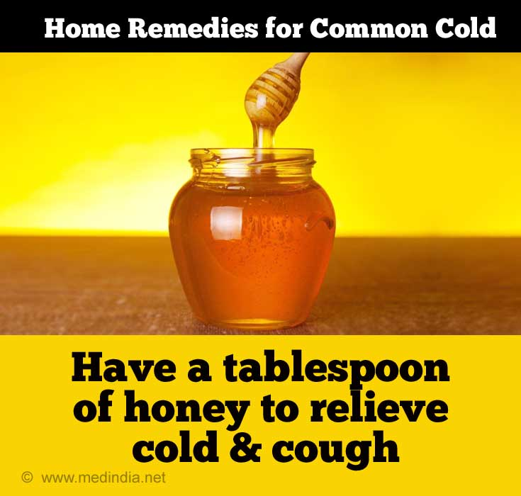 Home Remedies for Cold in Adults: Honey for Cough