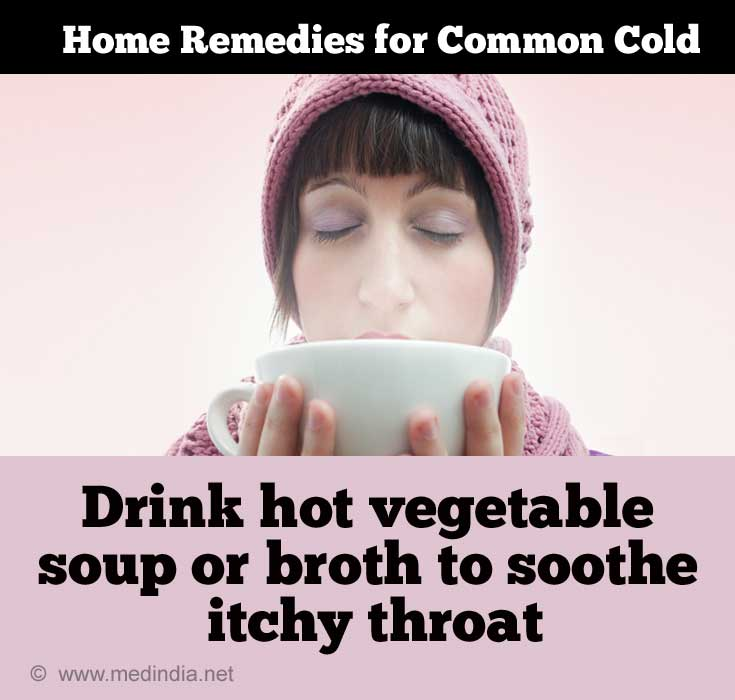 Home Remedies for Cold in Adults: Soothing Food