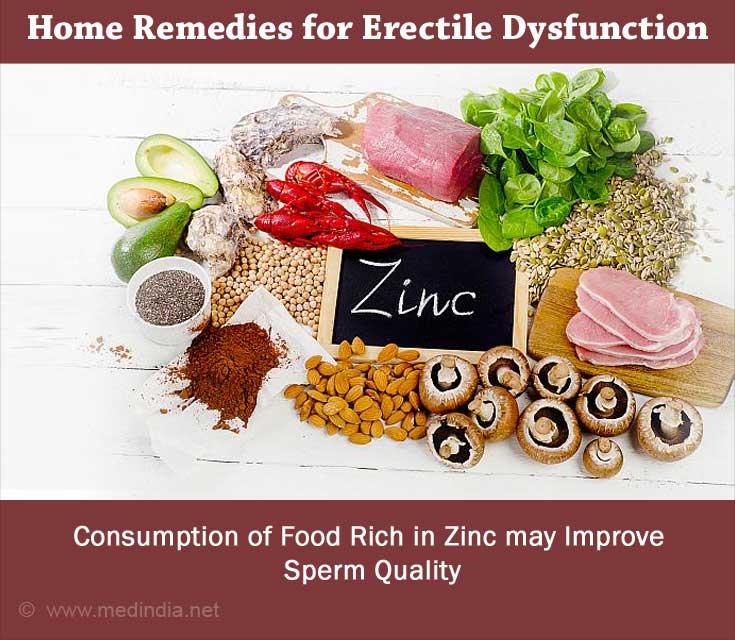 Zinc Rich Foods can Improve Sperm Quality