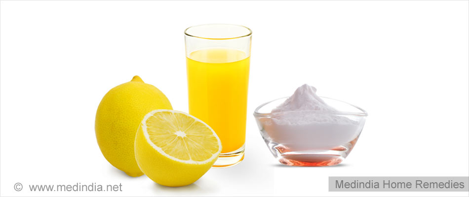 Home Remedies for Corns: Baking Soda and Lemon Juice